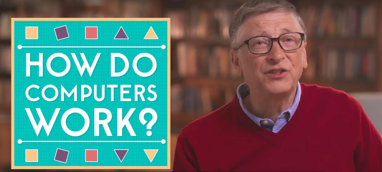 Bill Gates habla sobre el lenguaje del futuro