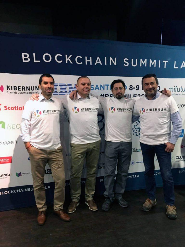 Marcelo Solari, Marko Knezovic, Yery Tannus y Rafael Fuentes, KIBERNUM.